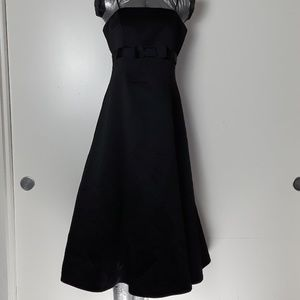David Bridal Black Gown